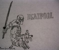 DeadPool by Never-be-a-Memory