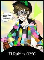 El rubiusOMG: gamer #1. by kiralara95