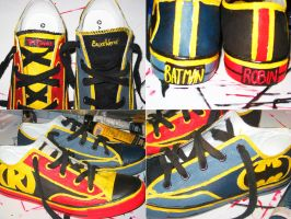 Batman for your feet by lexophile42