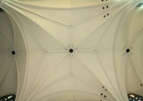 Denver Cathedral Ceiling 16 by Falln-Stock