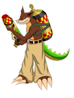 Dingodile by LegendaryJusticar99
