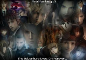 FFVII Wallpaper by DragonRiderofRohan