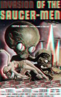 Invasion of the Saucer Men poster 3-D conversion by MVRamsey