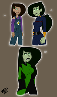 Shego Age Study by RED-Undead