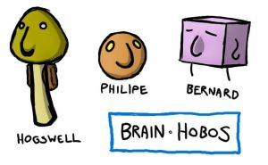 Brain Hobos by zack-materia-hunter