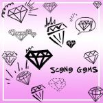 Scene Gemstones by Red--Roses
