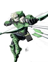 Green Arrow by benjtendo