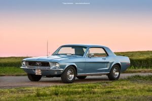 1968 Ford Mustang Coupe by AmericanMuscle