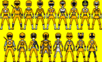 Yellow Ranger Power by MicroManED