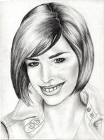Portrait of Allison Scagliotti by Lord--Snow