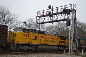 Union Pacific 9431 by CSX5344