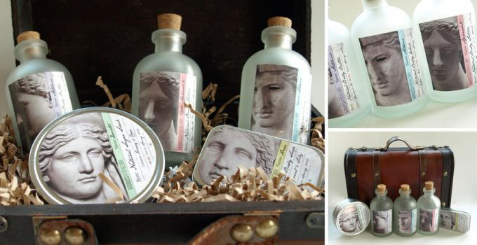 Goddess Apothecary Packaging Concept by krissy