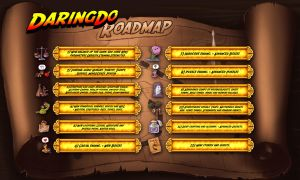 New Daring Do the game no interactive Road Map by alexmakovsky