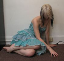 Blue Dress Stock 31 by KristabellaDC3