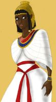 Queen Nefertari of Kemet by BrandonSPilcher