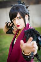 Dragon Age - Morrigan by Wolfenheim84