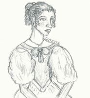 Cosette Character Study by TheRandomPhangirl