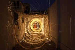 fire tunnel by demor