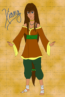 Avatar OC: Xiang by Miscellaneously-Kina