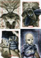 Marvel 70th Sketch Cards -j by RichardCox