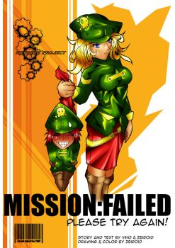 Mission Failed Intro Page by zeiroid
