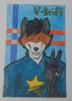 Commission Badge for V-Drift by Iko-The-Wolf