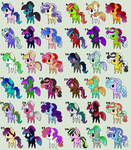 Huge, Cheap Chibi Pony Adopt Batch [Open] by A-Simple-Smile
