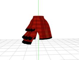 MMD half 3 layer skirt download by RavenUzukiChan