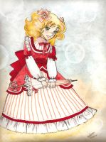 candy candy long dress by saraginotou