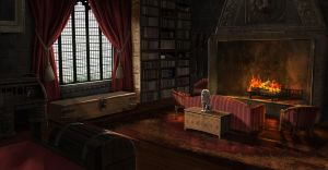 Gryffindor Dorms by FaceGrater