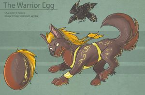 The Warrior Egg by Ulario