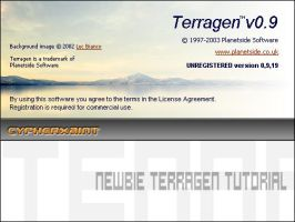 newbie terragen tutorial by cypherxaint