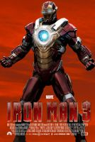 Iron Man 3 Poster Hearth Breaker Suit Ver. by TouchboyJ-Hero