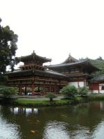 Behind the Byodo-In Temple by rioka