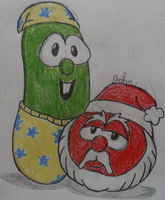 Bob and Larry (Oh Santa!) by JohnMarkee1995