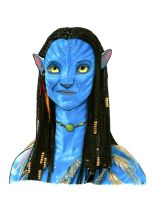Neytiri - Avatar with Video by Sofera