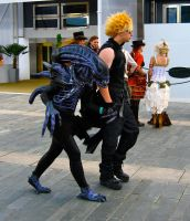 Dude and an Alien by ZeroKing2015