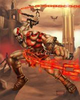 Kratos: Ghost of Sparta by holyghost13th