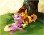 Apploosa Skies by Centchi