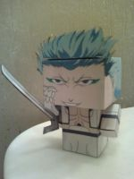 Grimmjow Jaggerjackez Cubee Finished by rubenimus21