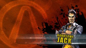 Borderlands2 Wallpaper - Handsome Jack by mentalmars