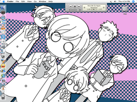 Ouran High Desktop by TheInsaneRainbow