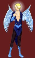 Sanji: Almost Typical Angel by drgnelf