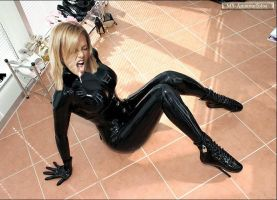 Charlize T. in Latex1 and Cum by MS-Amateurfotos