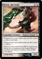 MtG - Riven, the Exile by soy-monk