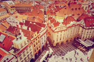 Prague roofs by 4otomax