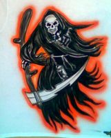 REAPER AIRBRUSHED by javiercr69