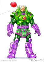 Lex Luthor: Flawless Design by ToddNauck