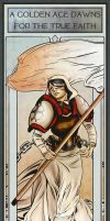 Protectorate of Menoth Propaganda Poster by Fly-Dog