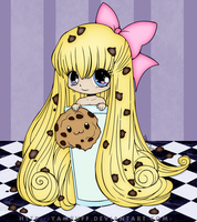 Chibi Cookie Colored by wildflower4etrnty